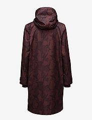 Ganni - Vandalia - cienkie płaszcze - decadent chocolate - 2