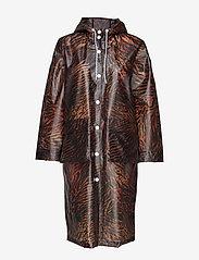 Ganni - Biodegradable Jacket - vêtements de pluie - tiger - 1