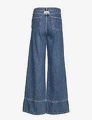 Ganni - Suit Denim - broeken met wijde pijpen - denim - 1
