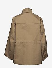 Ganni - Double Cotton - kurtki użytkowe - tannin - 2
