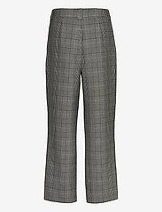 Ganni - Suiting - bukser med brede ben - phantom - 1