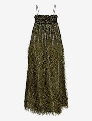 Ganni - Feathery Cotton - midi kjoler - kalamata - 1