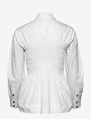 Ganni - Cotton Poplin - chemises à manches longues - bright white - 1