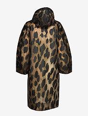 Ganni - Thermoshell - vêtements de pluie - maxi leopard - 1