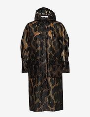 Ganni - Thermoshell - vêtements de pluie - maxi leopard - 2
