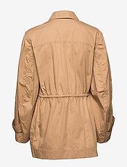 Ganni - Ripstop Cotton Chino - utility-jakker - tannin - 2