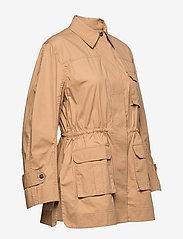 Ganni - Ripstop Cotton Chino - utility-jakker - tannin - 3