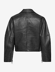 Ganni - Light Grain Leather - nahkatakit - black - 2