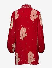 Ganni - Pleated Georgette - midi kjoler - lollipop - 1