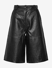 Ganni - Lamb Leather - nahka - black - 0