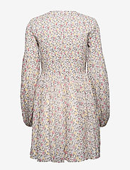 Ganni - Printed Georgette - midi kjoler - egret - 1