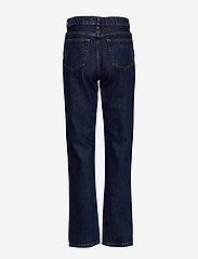 Ganni - Basic Denim - mom jeans - dark indigo - 1