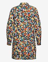 Ganni - Printed Cotton Poplin - skjortekjoler - multicolour - 1