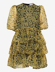 Ganni - Organza - korta klänningar - flan - 0