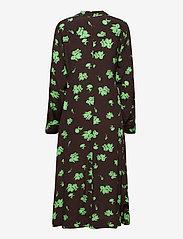 Ganni - Printed Crepe - alledaagse jurken - mole - 2