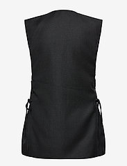 Ganni - Wool Suiting - knitted vests - phantom - 1