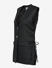 Ganni - Wool Suiting - knitted vests - phantom - 2
