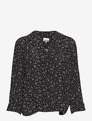 Ganni - Shirt - langærmede skjorter - black - 0