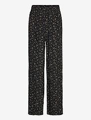 Ganni - Pants - bukser med lige ben - black - 0