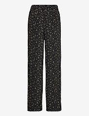 Ganni - Pants - bukser med lige ben - black - 1