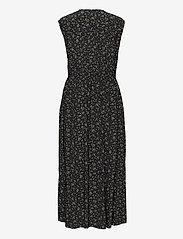 Ganni - Sleeveless Dress - sommerkjoler - black - 1