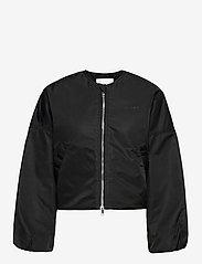 Ganni - Outerwear Nylon - bomber jakker - black - 0