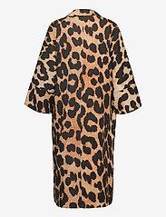 Ganni - Linen Canvas - maxi leopard - 1