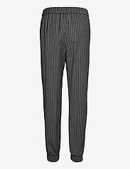 Ganni - Stripe Suiting - tøj - phantom - 1