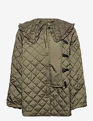Ganni - Coat - quiltede jakker - kalamata - 0