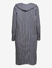Ganni - Loose Fit Shirt Dress - midi dresses - dark indigo - 1