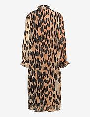 Ganni - Dress - cocktail dresses - maxi leopard - 0