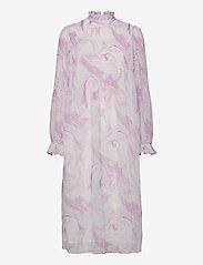 Ganni - Dress - cocktailkjoler - orchid bloom - 0