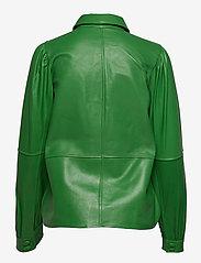 Ganni - Shirt - langermede skjorter - kelly green - 1