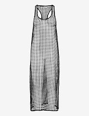 Ganni - Grid Lace - sommerkjoler - black - 0