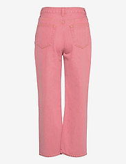 Ganni - Yarndyed Denim - straight jeans - pink nectar - 1