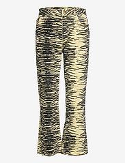 Ganni - Print Denim - boot cut jeans - pale banana - 0