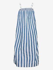 Ganni - Stripe Cotton - sommerkjoler - daphne - 1