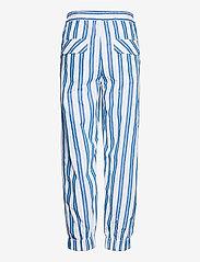 Ganni - Stripe Cotton - casual trousers - daphne - 1
