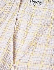 Ganni - Seersucker check - sommerkjoler - multicolour - 2