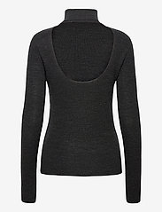 Ganni - Light Merino Knit - rullekraver - phantom - 1