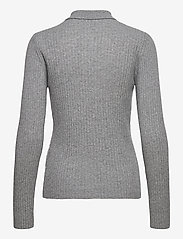 Ganni - Wool Mix Knit - trøjer - paloma melange - 1