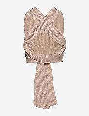 Ganni - Rib Knit - strikveste - brazilian sand - 1
