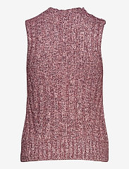 Ganni - Chunky Glitter Knit - strikveste - pink nectar - 1