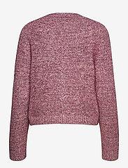 Ganni - Chunky Glitter Knit - cardigans - pink nectar - 1