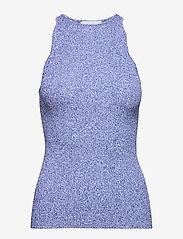 Ganni - Melange Knit - Ærmeløse toppe - daphne - 0