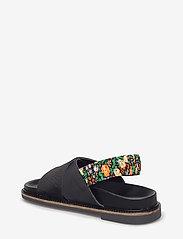 Ganni - Mona - płaskie sandały - black - 2