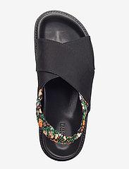Ganni - Mona - płaskie sandały - black - 4