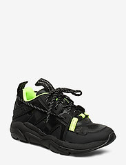 Ganni - Tech Sneakers - chunky sneakers - black - 0