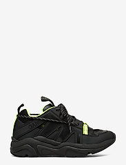 Ganni - Tech Sneakers - chunky sneakers - black - 1