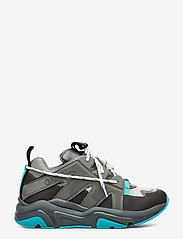 Ganni - Tech Sneakers - chunky sneakers - charcoal grey - 1